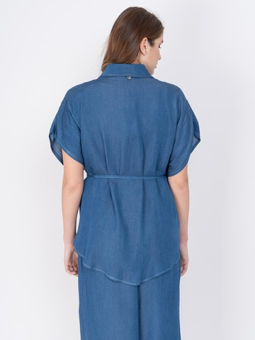 Э711.3003.M/19-01 Блуза Mat Fashion