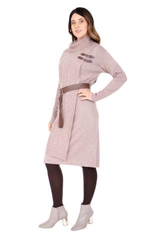 Э50121-W19/18-02 Платье тр.+ремень Franco Vello
