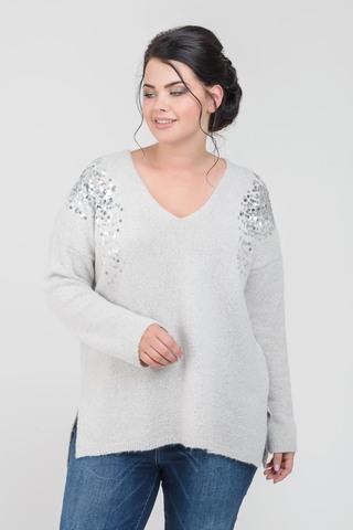 Э701.5034/18-02 Пуловер Mat Fashion