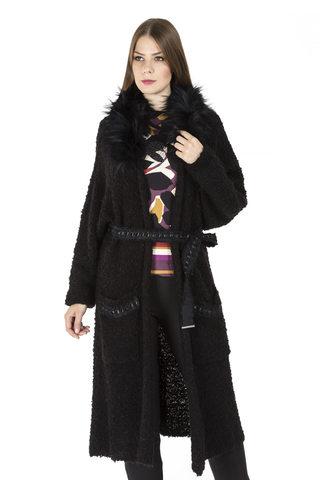 18W-5040/17-02 Пальто трикотажное Franco Vello
